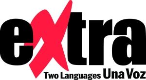 Extra logo color black